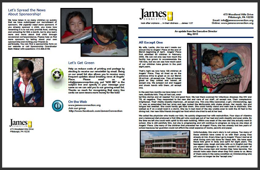 Newsletter Link 2013